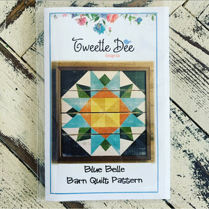 Blue Belle Barn Quilt Pattern
