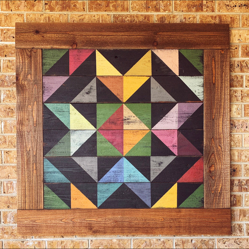 Orchard Star Barn Quilt