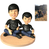 UK Sales-Fully Customizable 2 person Custom Bobblehead
