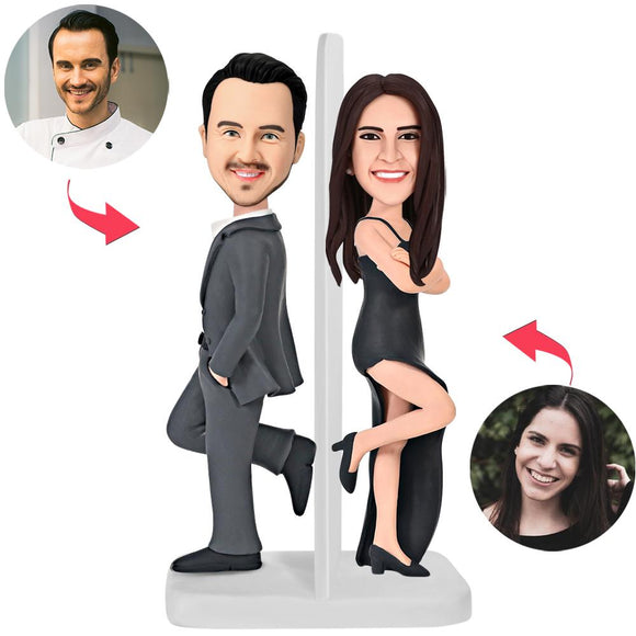 UK Sales-Mr.And Mrs.Smith Wear Custom Bobblehead