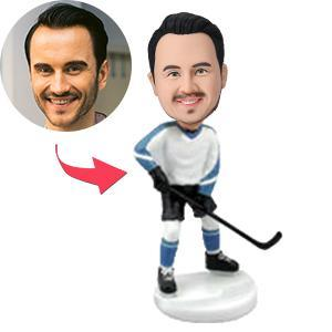 UK Sales-Hockey Player Custom Bobblehead