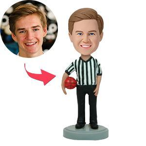UK Sales-Basketball Referee Custom Bobblehead