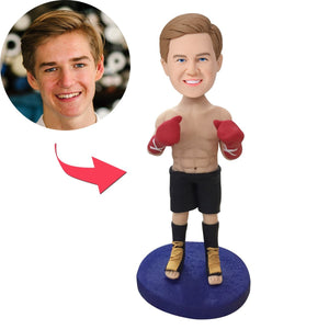 UK Sales-Boxer Custom Bobblehead