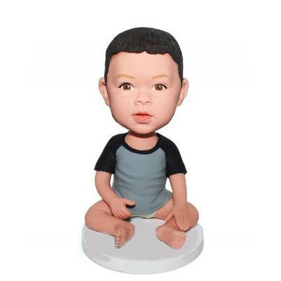 UK Sales-Bady Seat On The Floor Custom Bobblehead