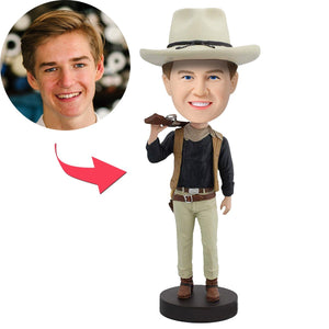 UK Sales-Cowboy Custom Bobblehead
