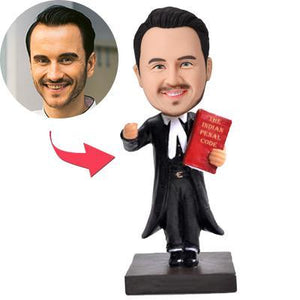 UK Sales-Lawyer/Attorney Custom Bobblehead