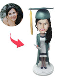 UK Sales-Graduation G Custom Bobblehead