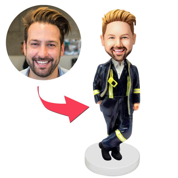 UK Sales-Firemen Custom Bobbleheads