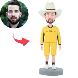 UK Sales-Don't Tread On Me Man Custom Bobbleheads