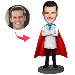 UK Sales-Cool Super Doctor Custom Bobbleheads