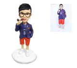 UK Sales-Fully Customizable 1 Kid Custom Bobblehead