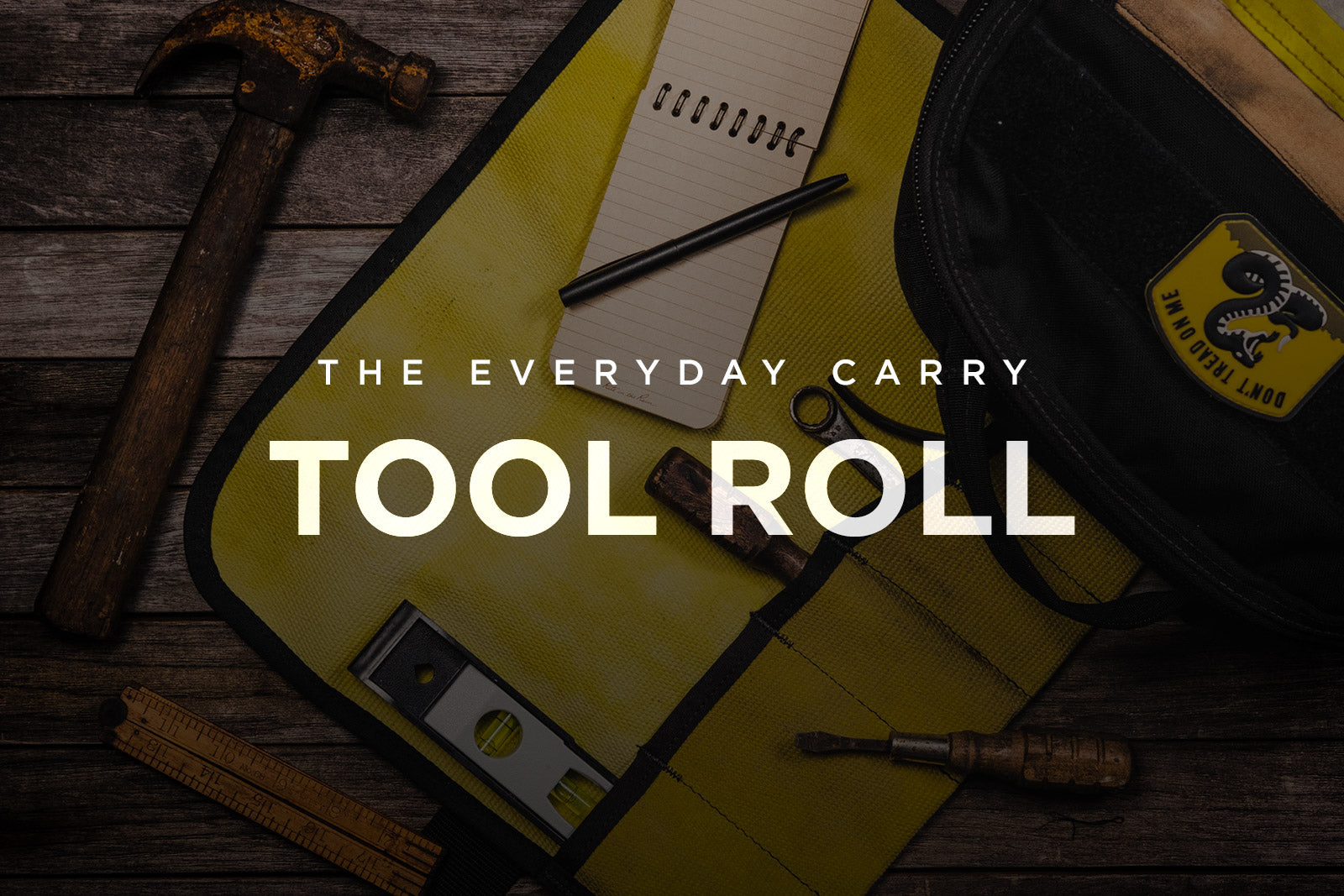 Everyday Carry Tool Roll