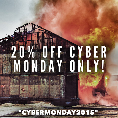20% OFF CYBER MONDAY EVERY DAY CARRY DEALS