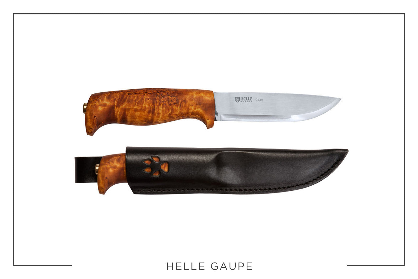Best Camp Knives Helle Gaupe