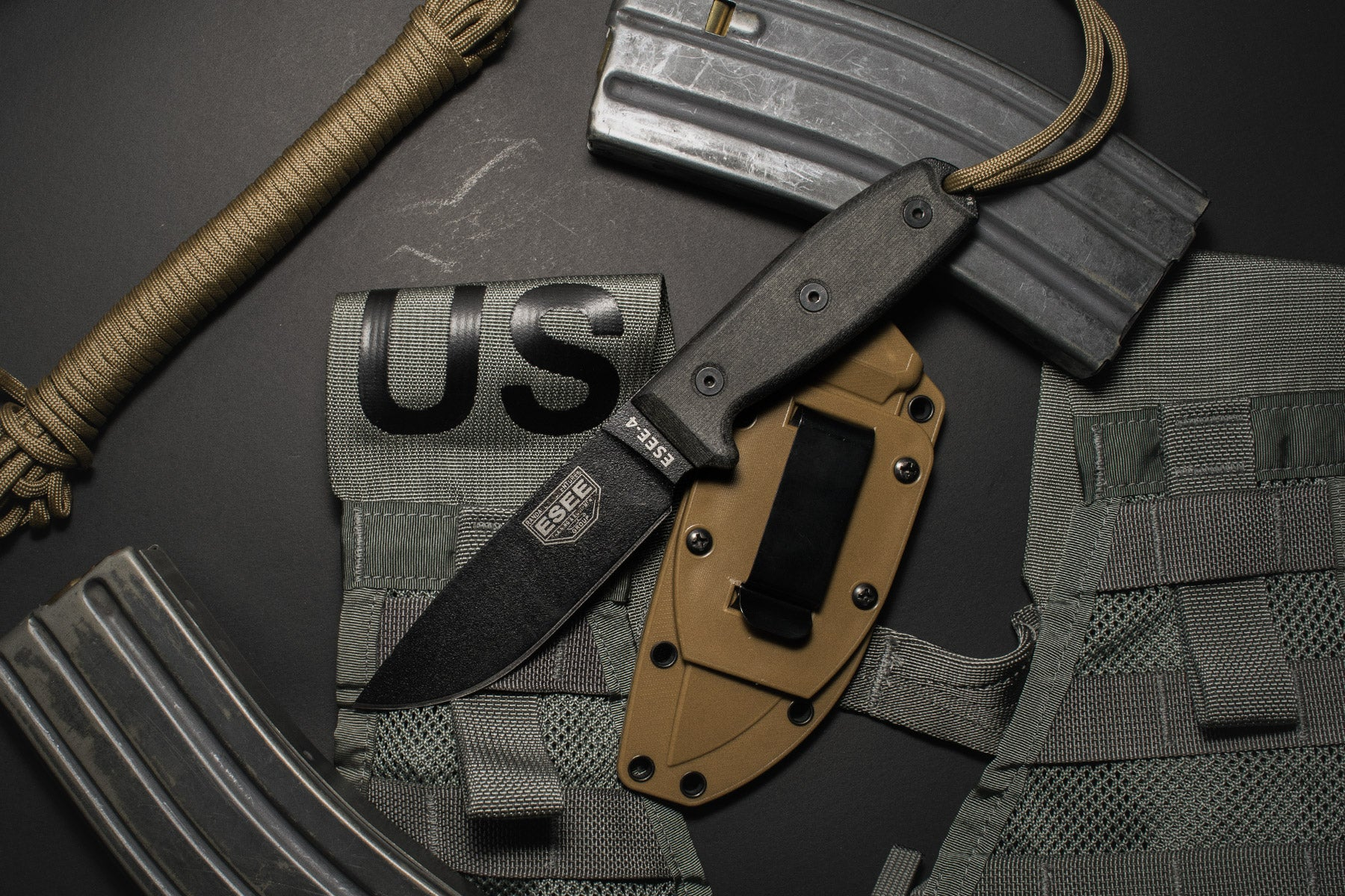 USA Made Esee Rowen Knives