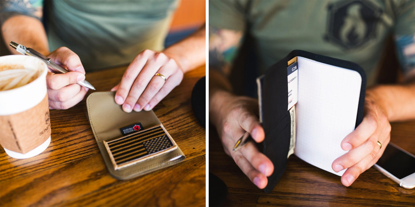 Carry a Notebook Wallet