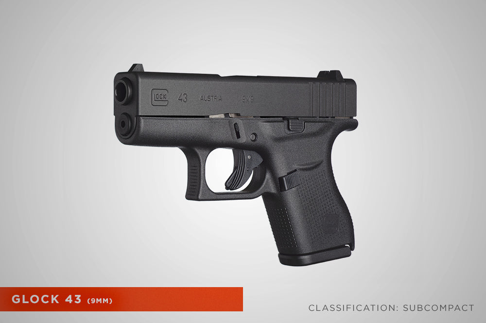 Concealed Carry Glock 43 9mm