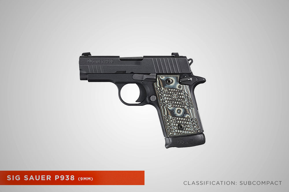 Concealed Carry Sig P938 9mm