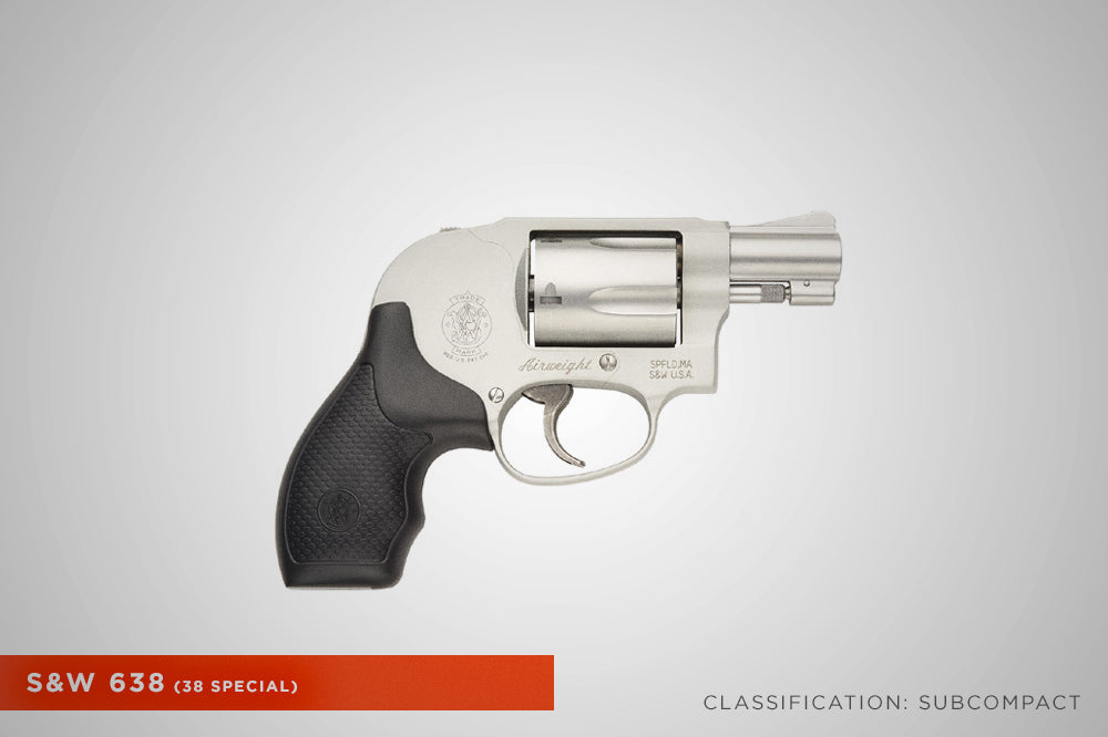 Concealed Carry Smith Wesson 638 Revolver
