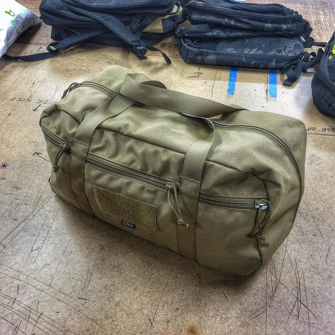Custom American Made Duffle Bag