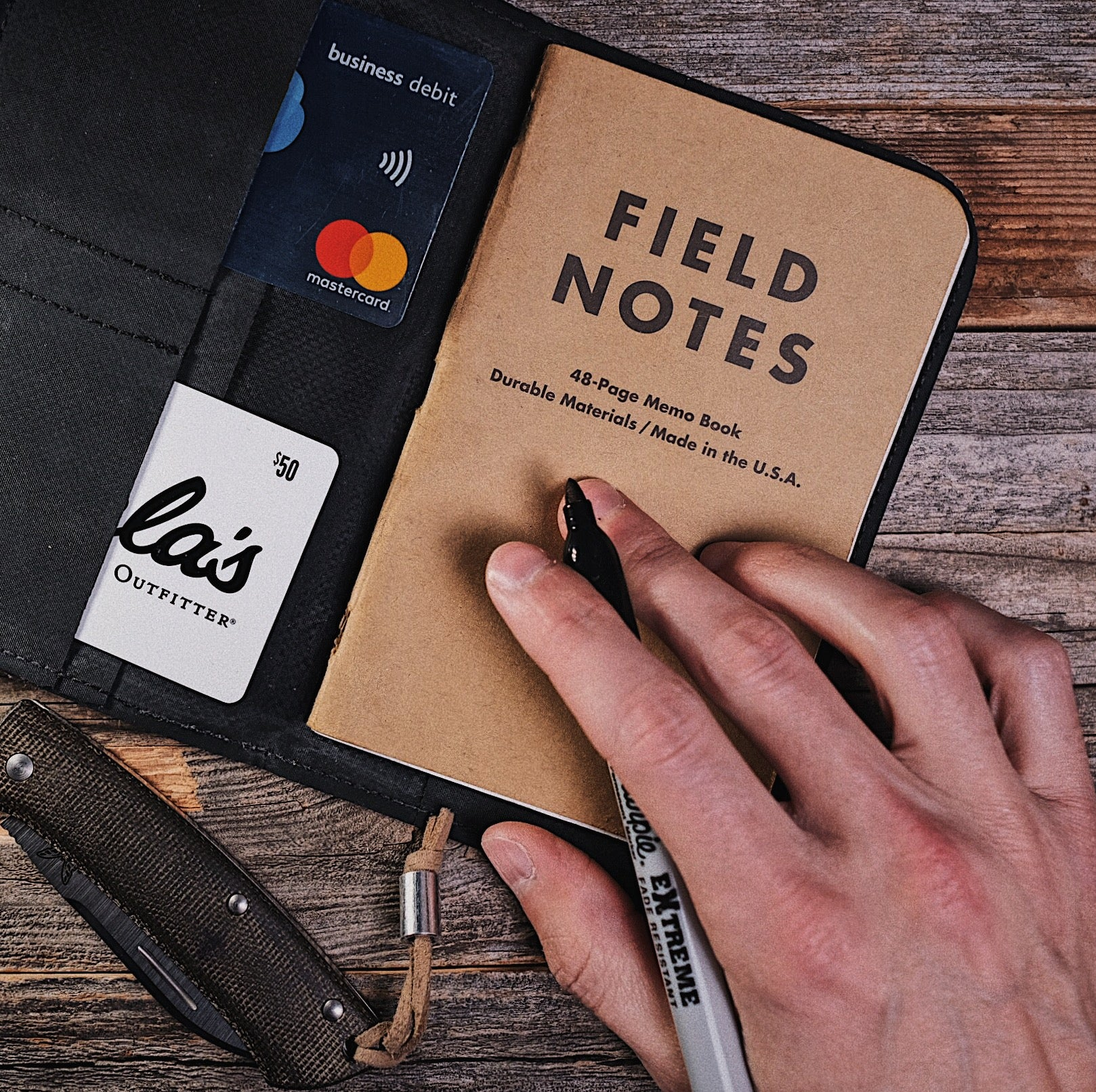 Field Notes Wallet