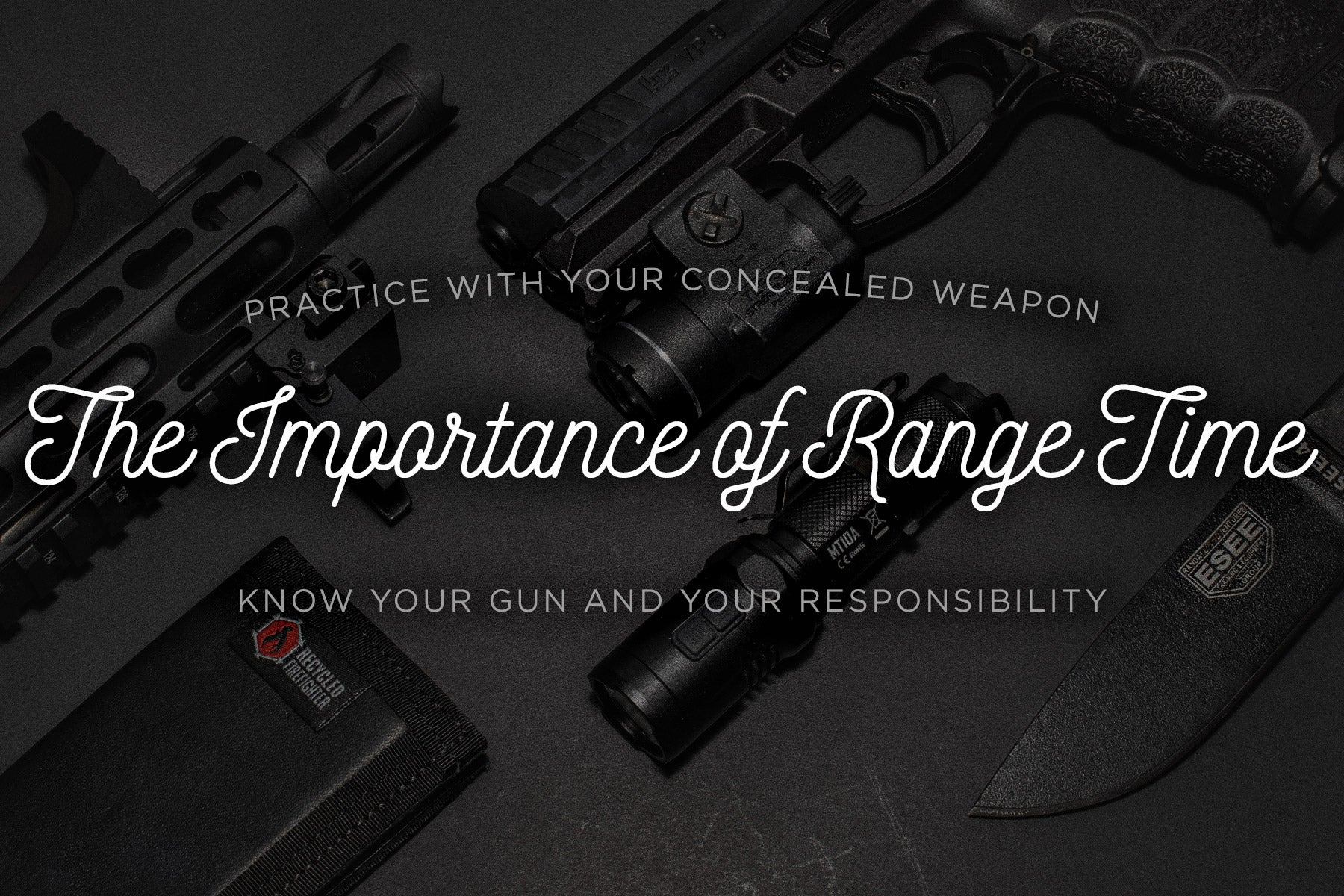 Practice with your concealed carry weapon