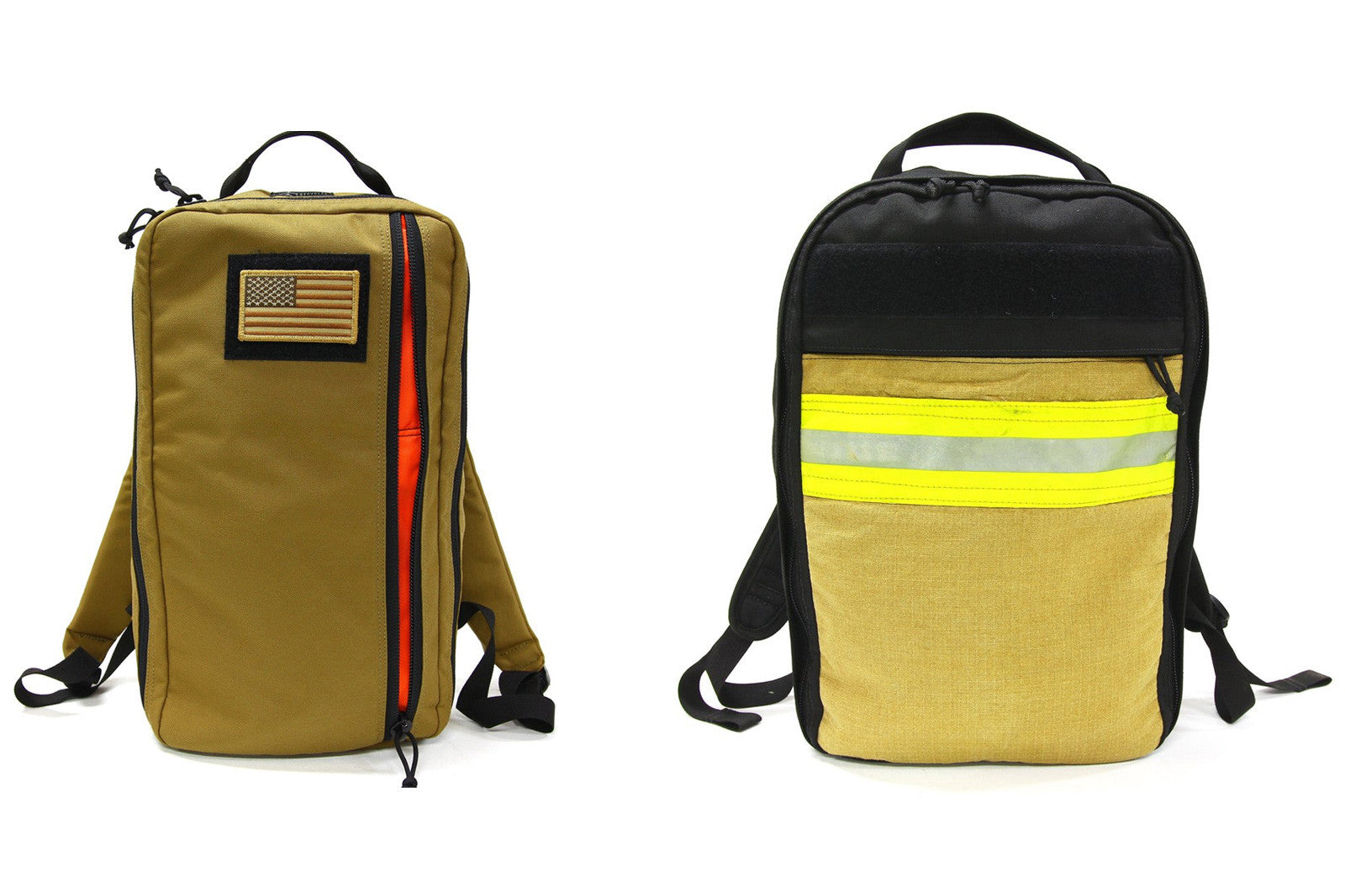 Recycled Firefighter Backpack 12L and 21L