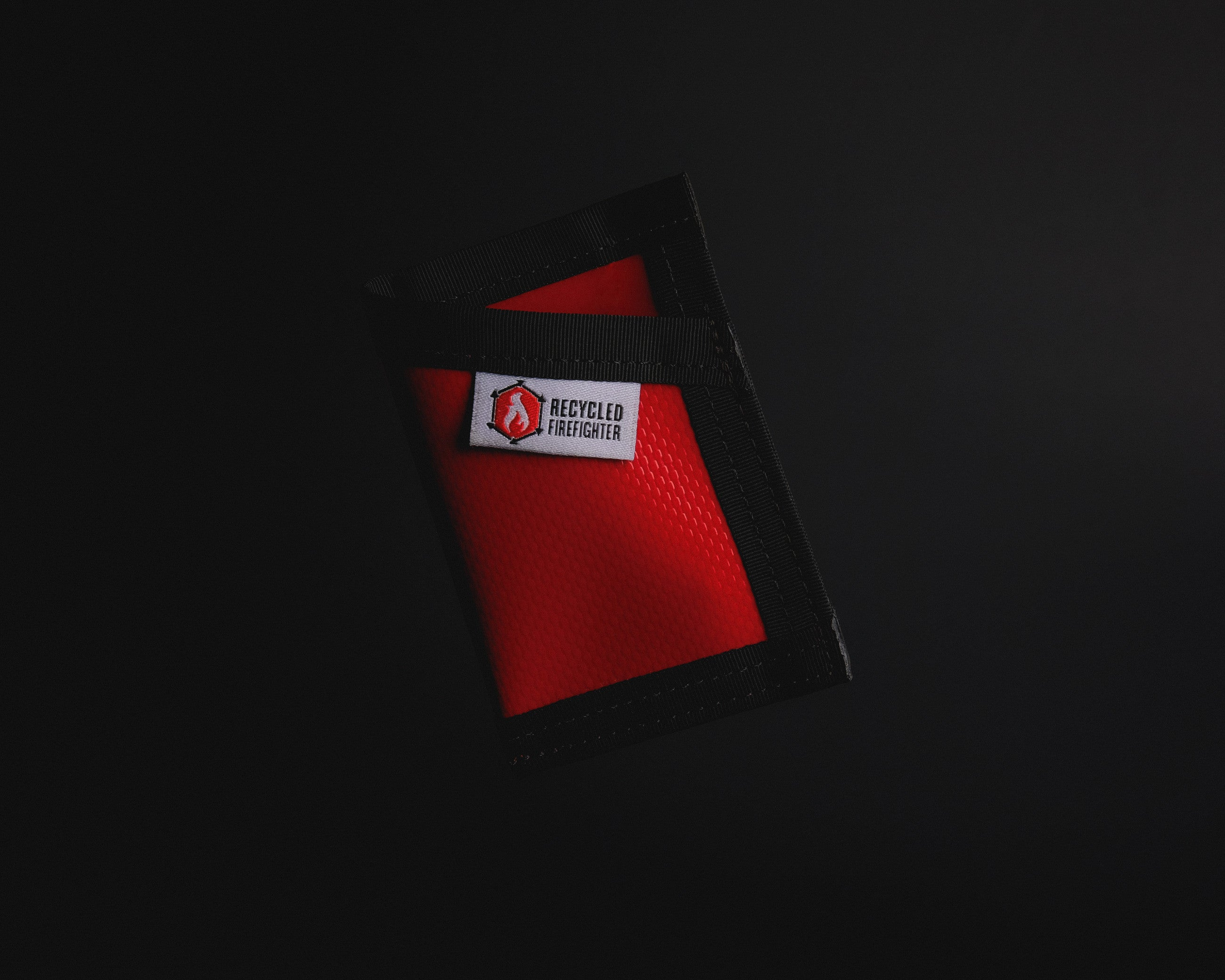 Recycled Firefighter Wallet