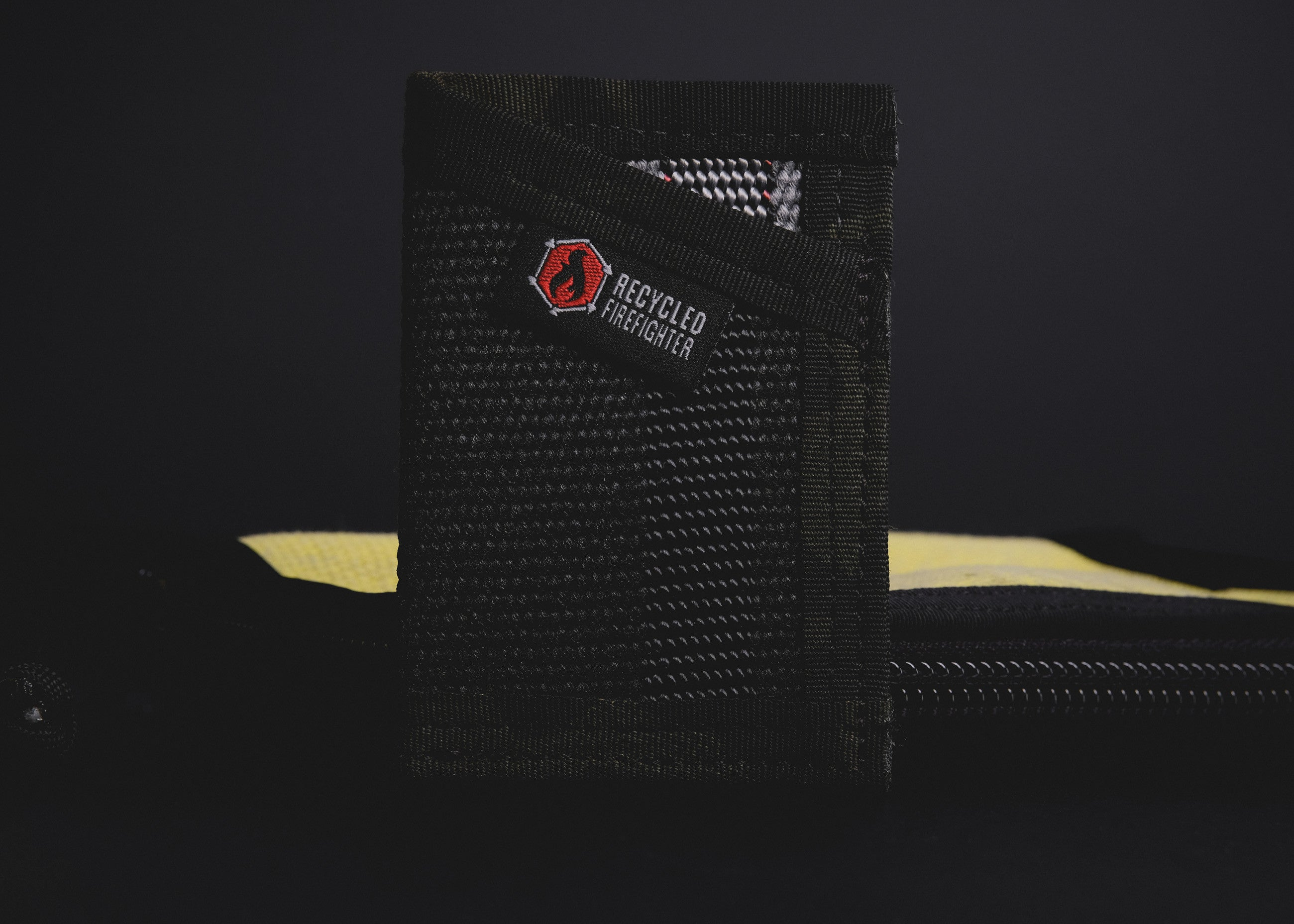 Recycled Firefighter Wallets