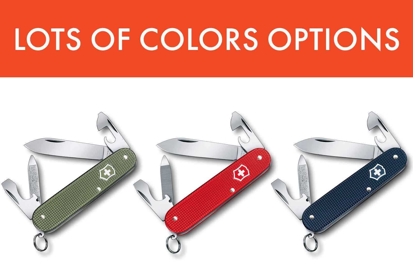 Swiss Army Knife Cadet Colors
