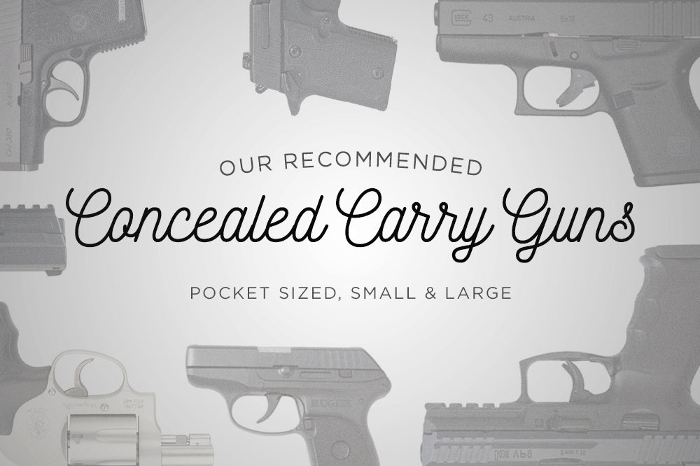Top Concealed Carry Guns