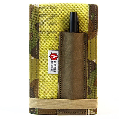Yellow and Multicam Fire Hose Rite in the Rain notebook cover