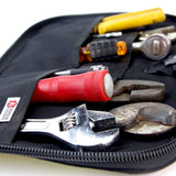 Durable Travel bag, Dopp Kit, Perfect for Tools. Made from decommissioned fire hose by Recycled Firefighter