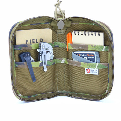 Fire Hose Zippered Pouch - SMALL