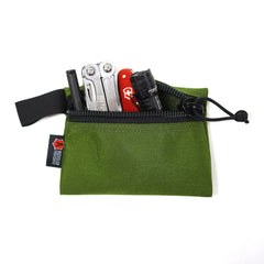 Flat Zippered Gear Pouch