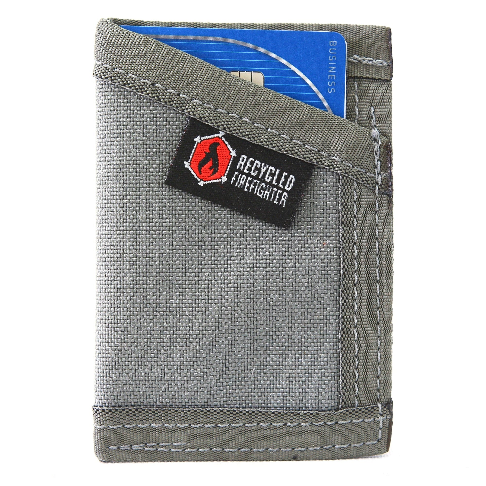 472d44ad0668 1000D NYLON Credit Card Minimalist Wallet by Recycled Firefighter