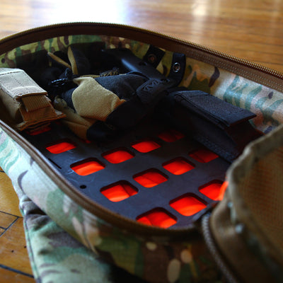 Rigid MOLLE Panel for 12Hr Packs