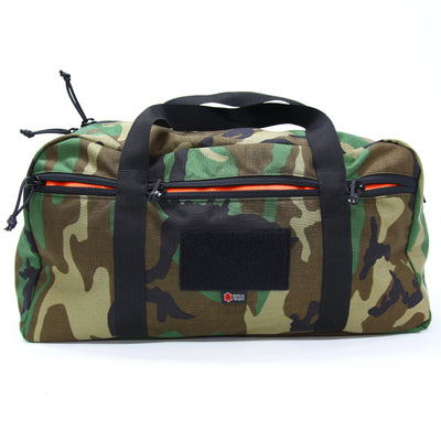 42L Battalion Duffle Bag Woodland Backpack