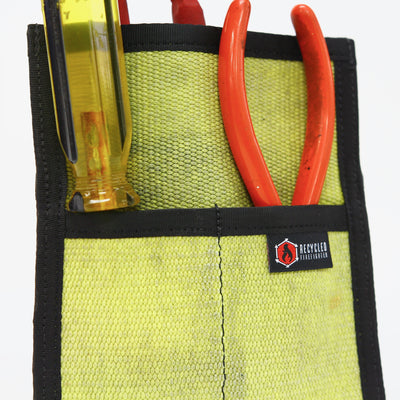 Fire Hose Firefighter Tool Pouch Zippered Bag
