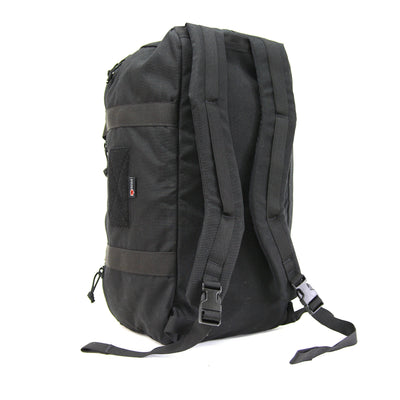 42L Battalion Duffle Backpack Black Backpack