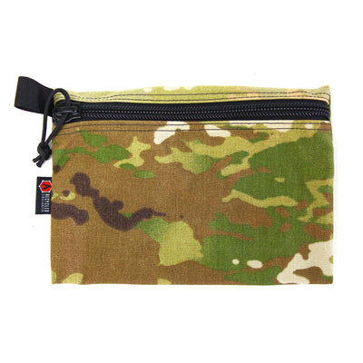 Flat Zippered Gear Pouch Large Multicam