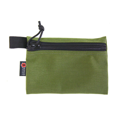 Flat Zippered Gear Pouch Medium Olive Drab