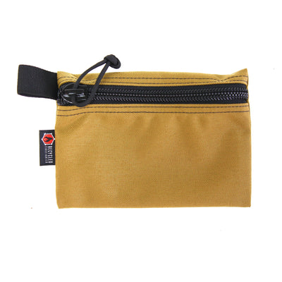 Flat Zippered Gear Pouch Medium Coyote
