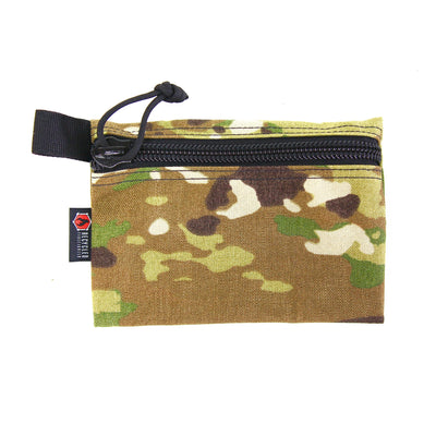 Flat Zippered Gear Pouch Medium Multicam