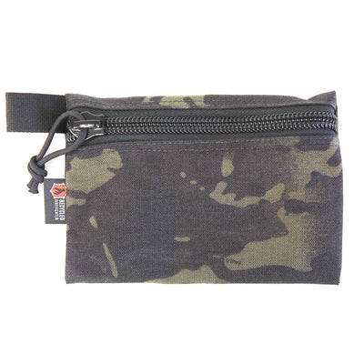 Flat Zippered Gear Pouch Medium Multicamblack