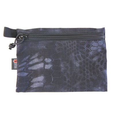 Flat Zippered Gear Pouch Large
