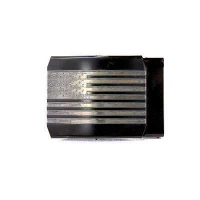 Edc Belt Buckle 1.5 Black Flag