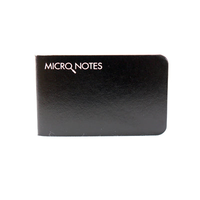Micronotes Notebook Black