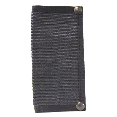 Long Wallet Black Hose Fire