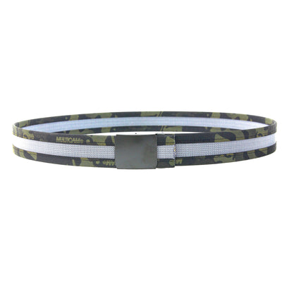 Edc Belt Single Layer Tactical Grey Blackmulticam